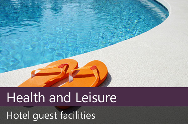 Health and leisure facilities.